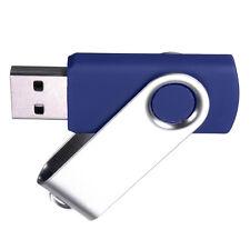 Swivel USB 2.0 Metal Flash Memory Stick Pen Drive Storage Thumb U Disk Lot MT