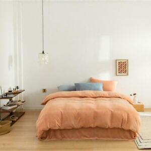 Velvet Soft Bedding Sets 4/6Pcs Zipper Comforter Cover Duvet Cover Bed Sheet Set