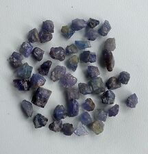 100 CT SCOOP NATURAL TANZANITE GEMSTONE LOOSE RAW ROUGH LOT MINERAL WHOLESALE