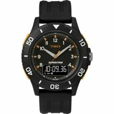 Timex TW4B16700, Expedition Resin Watch, Katmai Combo, Indiglo, Chronograph
