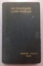 Ancien Dictionnaire A.Gariel 1946 latin-français coll portefeuille Hatier Paris