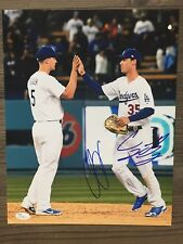 COREY SEAGER & CODY BELLINGER signed 11x14 photo ~2016 & 2017 ROYs! ~ JSA/COA