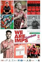 Lincoln City v Liverpool CARABAO CUP 3RD ROUND PROGRAMME 22/9/20 LAST FEW!
