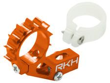 Rakon CNC AL Tail Motor Mount Set (Orange) - Blade 120S