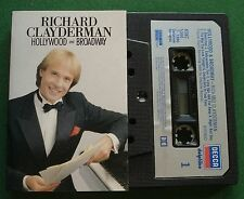 Richard Clayderman Hollywood & Broadway inc Bewitched + Cassette Tape - TESTED