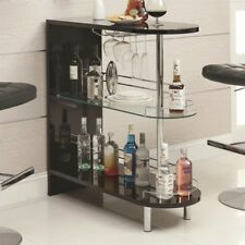 Coaster Home Furnishings 101063 Contemporary Bar Table Black