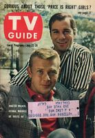 1961 TV Guide July 22-Route 66-George Maharis; Martin Milner, Corvettes;Petersen