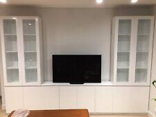 """Epping 1.0"" Integrated TV Entertainment Wall Unit  Bookshelf Storage Cabinet"