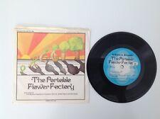 "THE PORTABLE FLOWER FACTORY - Scholastic - Vinyl 7"" 33 1/3 - 1972 - VERY GOOD"