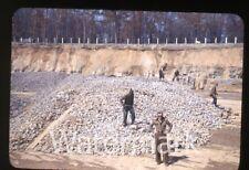 1940s  kodachrome Photo slide Soil Conservation Service Lime Quarry Sligo PA 1