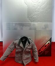 1/6 Hot Toys The Terminator T-800 MMS136 Jacket with Chain Dark Grey *US Seller*