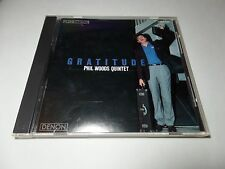Gratitude - Phil Woods Quintet 1986 Denon Japan CD XCLNT Condition
