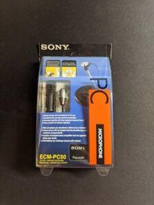 NEW, SEALED: Sony ECM-PC50 - Electret Condenser Microphone