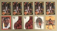 Dikembe Mutombo Lot Of (10) With Rookies Includes (5) 1991-92 Wild Card #5