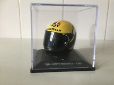 DEAGOSTINI - 1980 KENNY ROBERTS - 1/5 SCALE MODEL - MOTO GP HELMET COLLECTION