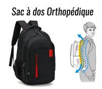 Sac A Dos Orthopédique Cartable Scolaire Ecole Enfant Garçon Fille Dos Droit FR
