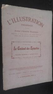 REVUE L'ILLUSTRATION THEATRALE JOURNAL DRAMATIQUE 4 JUIN 1910 N° 151 ABE