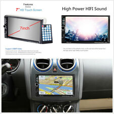 "7"" 2Din HD Car SUV Bluetooth Stereo MP5 Player GPS FM Remote Control Europe Map"
