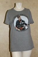 George Michael Faith Era Guitar  T Shirt New Official Women ___________ R4-2