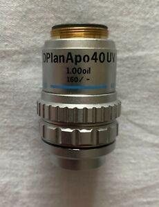 Olympus Microscope Objective – DPlanAPO 40x Oil-UV