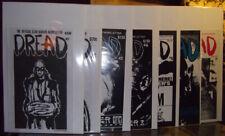 Dread The Official Clive Barker Newsletter 1-12 + special VG-M complete set lot