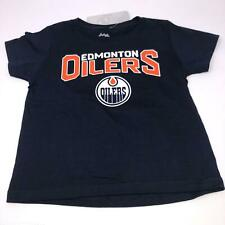 Edmonton Oilers Basic Logo Mcdavid #97 NHL Toddler & Infant  T-shirt Size 3T