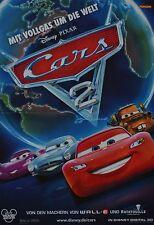 CARS 2 - A3 Poster (ca. 42 x 28 cm) - Film Plakat Sammlung Clippings NEU