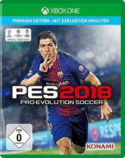 Pro Evolution Soccer 2018 Premium Edition Microsoft Xbox One Game Spiel Fussball