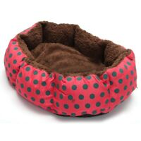 Pet Dog Cat Bed Soft Nest Puppy Cushion Warm Kennel Mat Washable Winter Gift 9J1