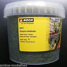 (100g=10,41€) NOCH 08157 Streugras Waldboden, 2,5 mm lang, 120g Dose, Neu