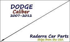 "2007-2012 Dodge Caliber - 32"" Black Stainless AM FM Antenna Mast"