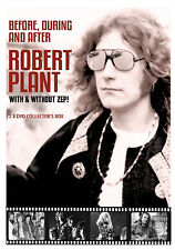 ROBERT PLANT of LED ZEPPELIN New 2017 COMPLETE HISTORY & BIOGRAPHY 2 DVD SET