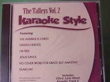 The Talleys #2 ~ Christian Daywind Karaoke Style ~ Jesus Saves ~ I'm Free ~ Cd+G