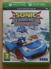 Sonic Et All Stars Racing Transformed pour XBox 360 & XBox One (NEW & SEALED)