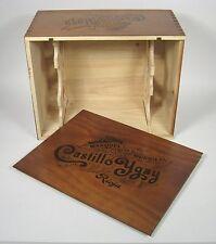 Castillo Ygay Bordegas Rioja Marques De Murrieta Wine Crate Wood Case Box Cellar