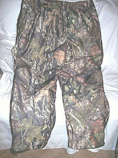 2X Mossy Oak Camo Hunting Pants 130 gr Insulated Cold Weather Pants Waterproof