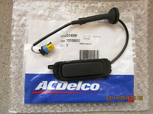07-14 CADILLAC ESCALADE / ESV TRUNK LID OPENER LIFTGATE RELEASE SWITCH OEM NEW
