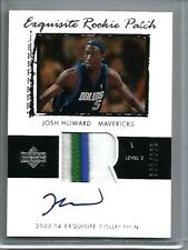 Josh Howard 03/04 Exquisite Collection Autograph Game Jersey Patch RC #115/225