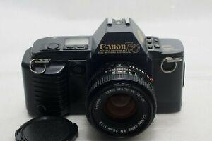 Canon T70 film Camera w/50mm f1.8 Lens *Excellent*
