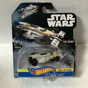 Star Wars Hot Wheels Car Ship The Ghost Ready for Track