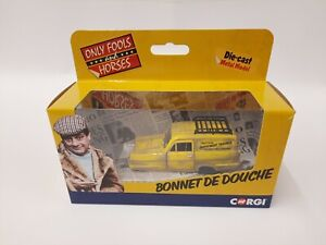 CORGI CC85803 ONLY FOOLS & HORSES DEL BOY'S RELIANT REGAL BONNET DE DOUCHE