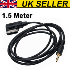 Music Interface AMI MMI to 3.5mm Male Jack Audio AUX Adapter Cable For Audi VW