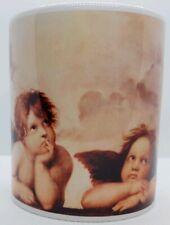 Sistine Madonna Angels By Raphael MUG Cherubs Gazing Heavenward Botticelli