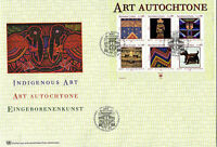 UNITED NATIONS 2005 INDIGENOUS ART O/S FIRST DAY COVER GENEVA SHS
