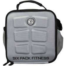 6 Pack Fitness The Cube Meal Management Bag - Gray/Black