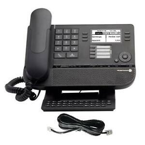 Alcatel Lucent 8029 Digital Premium Desk Phone in Black