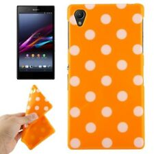 TPU Case Cover Shell Dots Scratch Protection for Mobile Phone Sony Xperia Z1