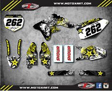 Full Custom Graphic Kit GRAFFITI STYLE SUZUKI RMZ 250 2007 2009 stickers decals