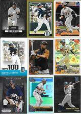 AUSTIN JACKSON  (9) CARD ROOKIE & INSERT LOT  BOWMAN STERLING, GOLD, REFRACTOR