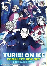 DVD Japan Anime Yuri!!! On Ice Complete Series (1-12 End) English Dubbed
